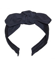 Dark Navy Grosgrain Center Riverter Headband