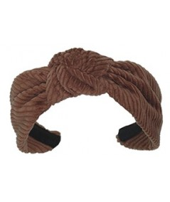 Tabac Corduroy Center Turban Headband