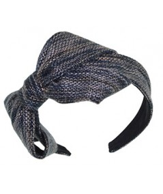 Bacall Wool Large Bow Headband