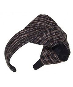 Bogey Wool Large Bow Headband