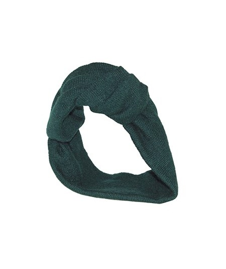 Wrapped Knit Turban Head Wrap Green