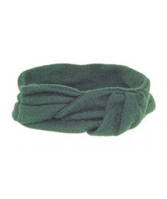 Wrapped Knit Turban Head Wrap Green