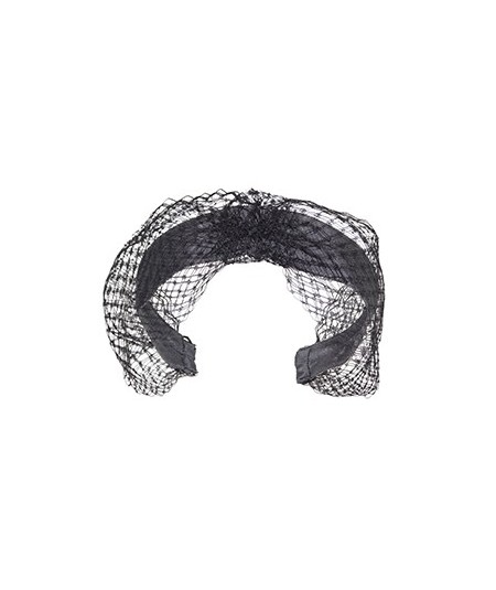Veiling Extra Wide Center Turban Elephant with Black
