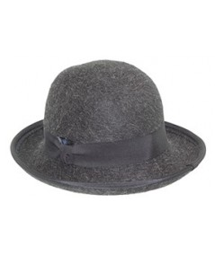 Bowler for Men Grey Hat