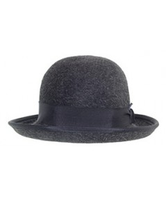 Classic Bowler Grey Hat