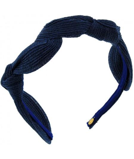 Millinery  Straw Knot Headpiece