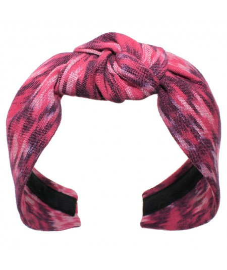 Ikat Bacall Turban Pinks