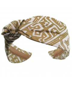 Aztec Cotton Print Lana Turban