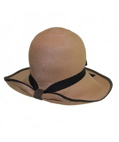 Wheat with Black Straw Hat