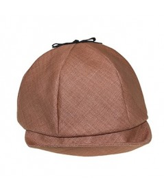 Italian Raffia Cap Trimmed with Bow at Top