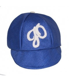 Royal Italian Raffia Cap Trimmed with Velour JO