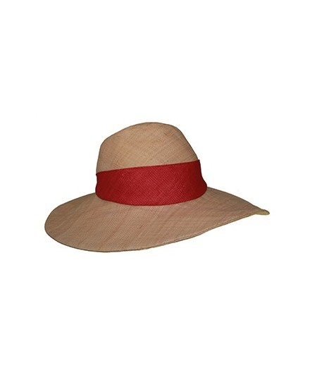 Raffia Sun Beach Hat with Italian Raffia Band