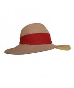 Raffia Sun Beach Hat with Italian Raffia Band