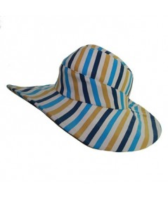 Jersey Stripe Summer Hat