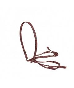 Pinks Raw Silk Long Ties Headband