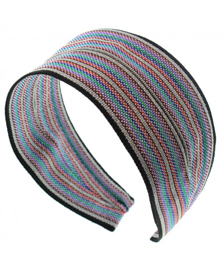 msx-extra-wide-metallic-stripe-basic-headband
