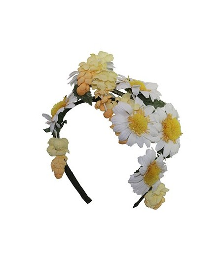 Daisy Flower Headpiece