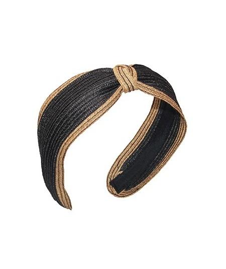 Black Wheat Straw Two Tone Divot
