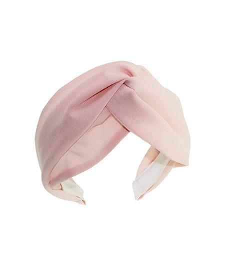 Pale Pink Silk Chiffon Turbanista Headpeice