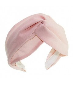 Pale Pink Silk Chiffon Turbanista Headpeice