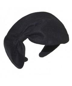 Linen Pillbox Bow Headband
