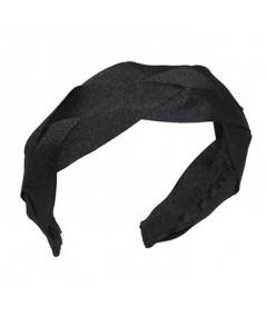 Black Braid Headband by Jennifer Ouellette