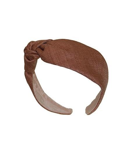 Wheat italian-raffia-side-knot-turban-headband