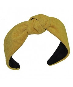 Honey suede-center-turban-headband