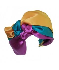 Carnival Turban Headband by Jennifer Ouellette
