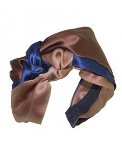 Brown Multi Turban Headband by Jennifer Ouellette