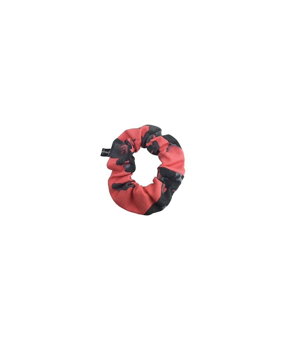Floral Cotton Print Scrunchies