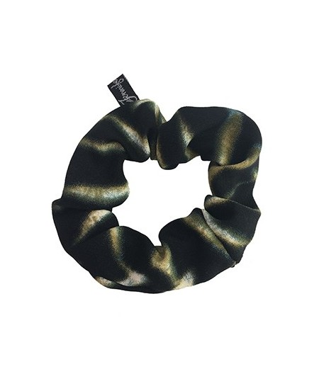 Jungle Silk Scrunchies