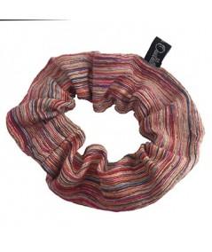 Raw Silk Scrunchies