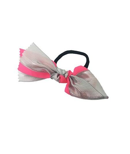Neon Metallic Tie Ponytail