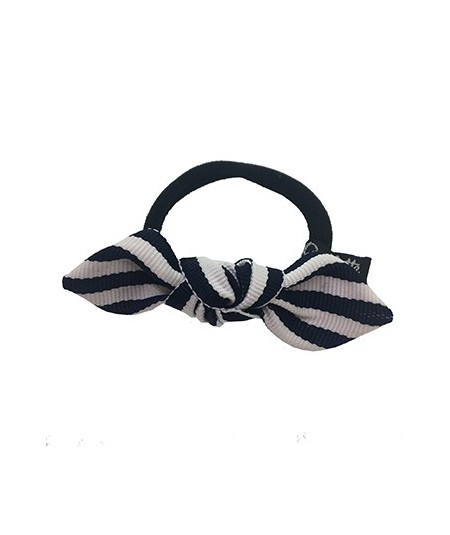 Grosgrain Stripe Small Knot Pony Holder