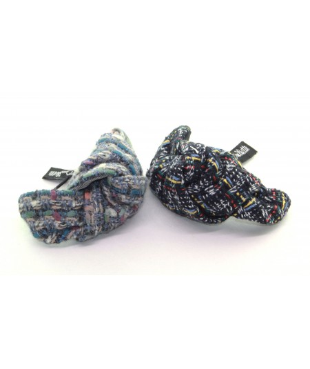 Boucle Tweed Knot Pony and Bracelet