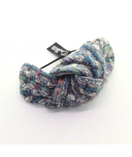 Pastels Boucle Tweed Knot Pony and Bracelet
