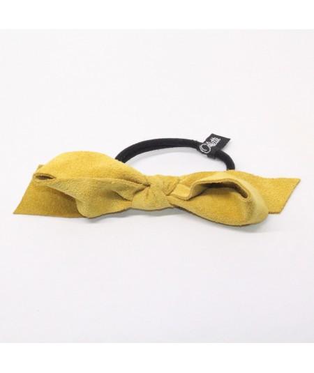 Yellow Suede Pony by Jennifer Ouellette