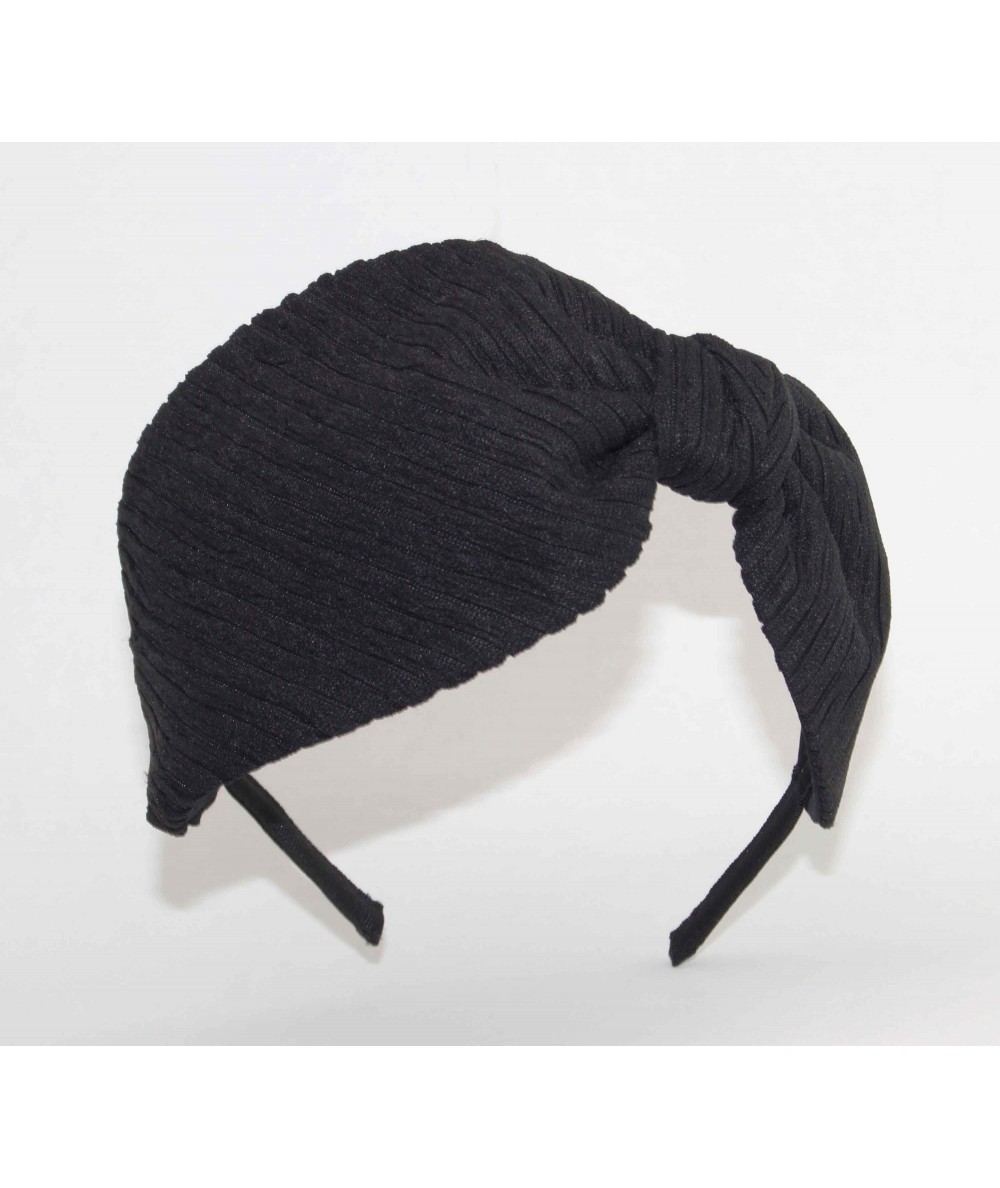 JS16 Black View 1 headband bow