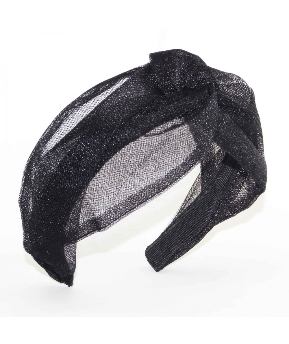 TL39 Black headband turban