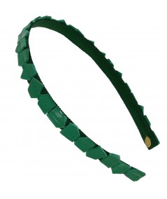 recycled-mosaic-patent-leather-skinny-headband