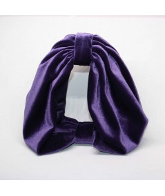 VV30 Purple headband turban