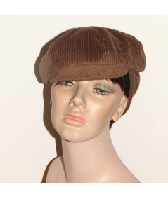 Corduroy Cap with Ear Warmer