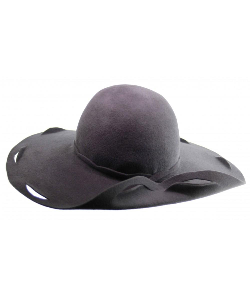 HT651 designer felt etched hat