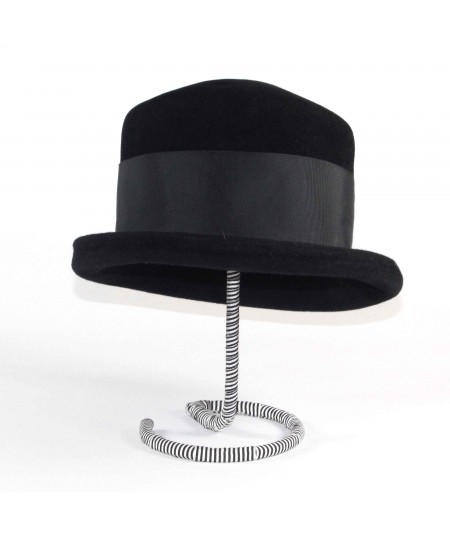 HT689 Black mens Top hat