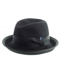 HT6391 mens black bowler hat hat ... 208326d2471