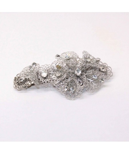 BROR flower and stone barrette 1