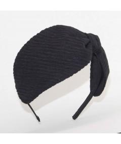JS16 Black View 2 headband bow