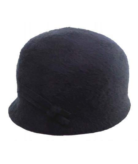 HT648 felt fuzzy bubble cap hat