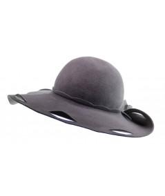 HT651 designer felt lace hat